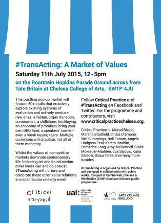 TransActing Market Flyer